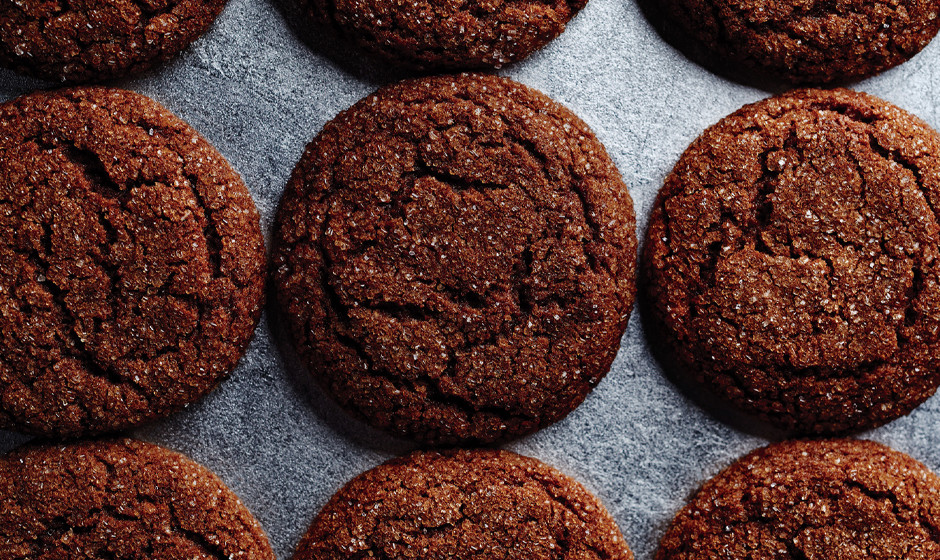 Edible: Chewy molasses cookies